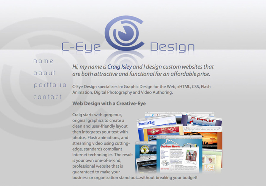 A great web design by C-Eye Design, Birmingham, AL: