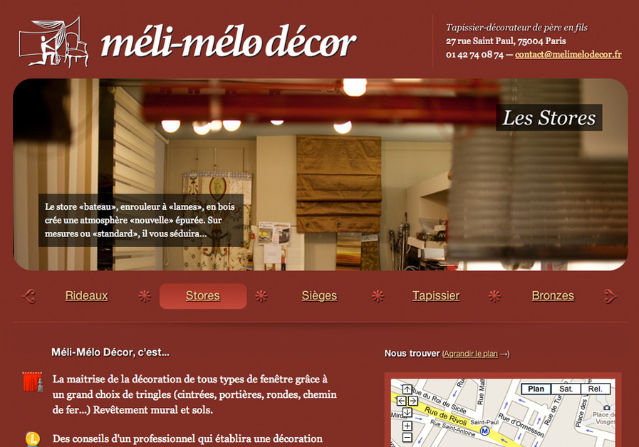 A great web design by Gueorgui Tcherednitchenko, Paris, France:
