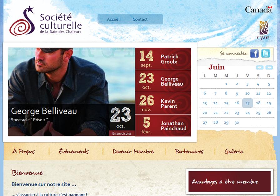 A great web design by northStudio Atlantic, Campbellton, Canada: