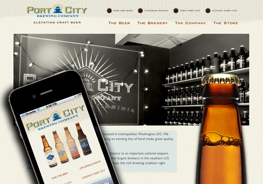 A great web design by Wellfire Interactive, Washington DC, DC: