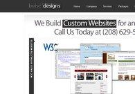 A great web design by Boise Designs, Boise, ID: