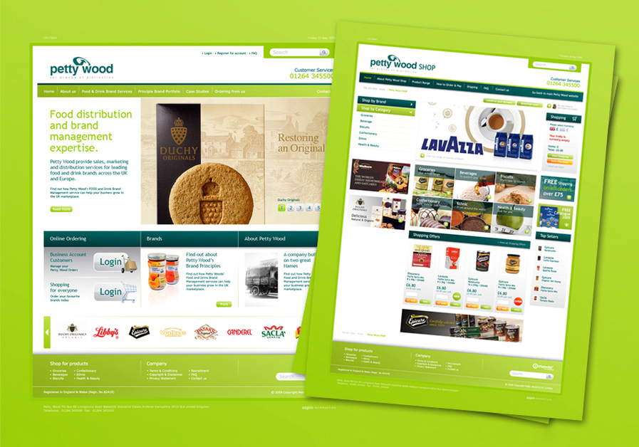 A great web design by Aspin | eCommerce, New York, NY: