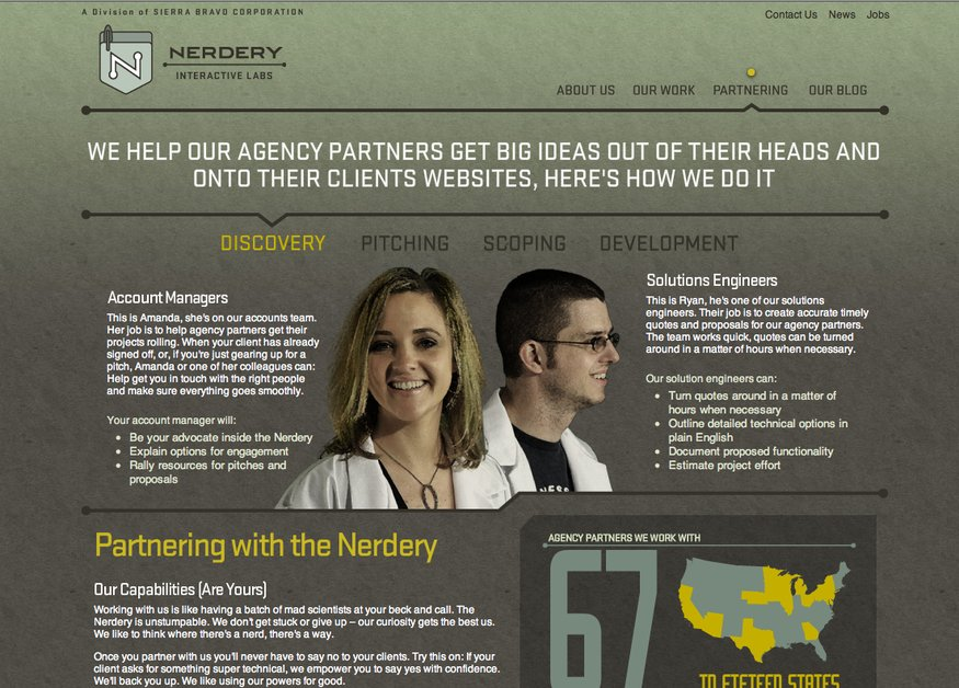 A great web design by Nerdery Interactive Labs, Minneapolis, MN: