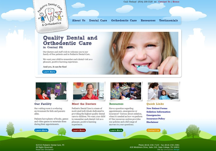A great web design by Concepcion Design, Washington DC, DC: