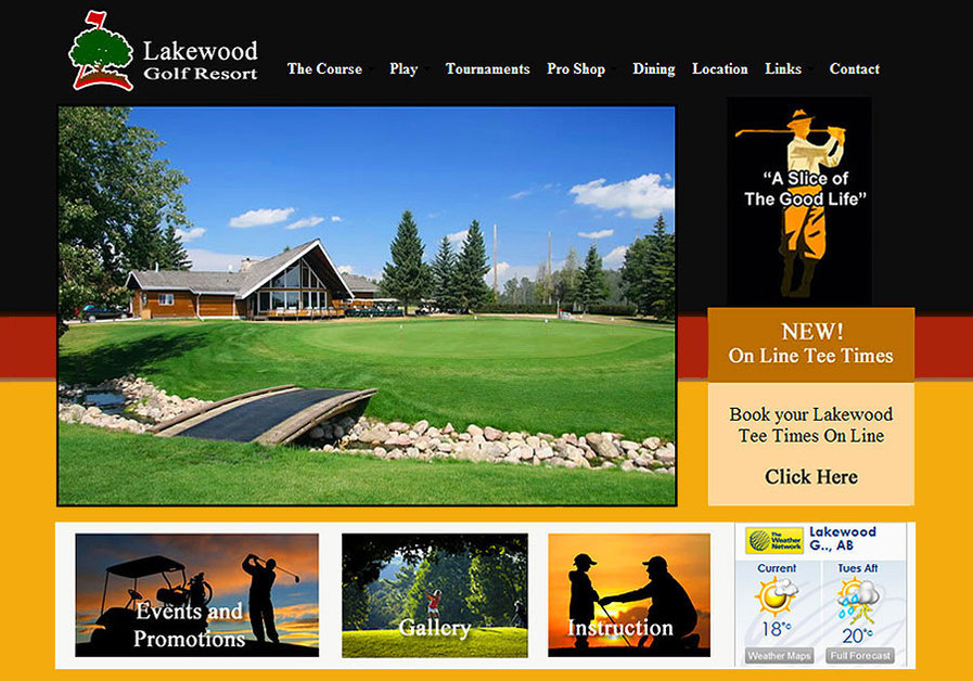A great web design by Impact Creative Services, Red Deer, Canada: