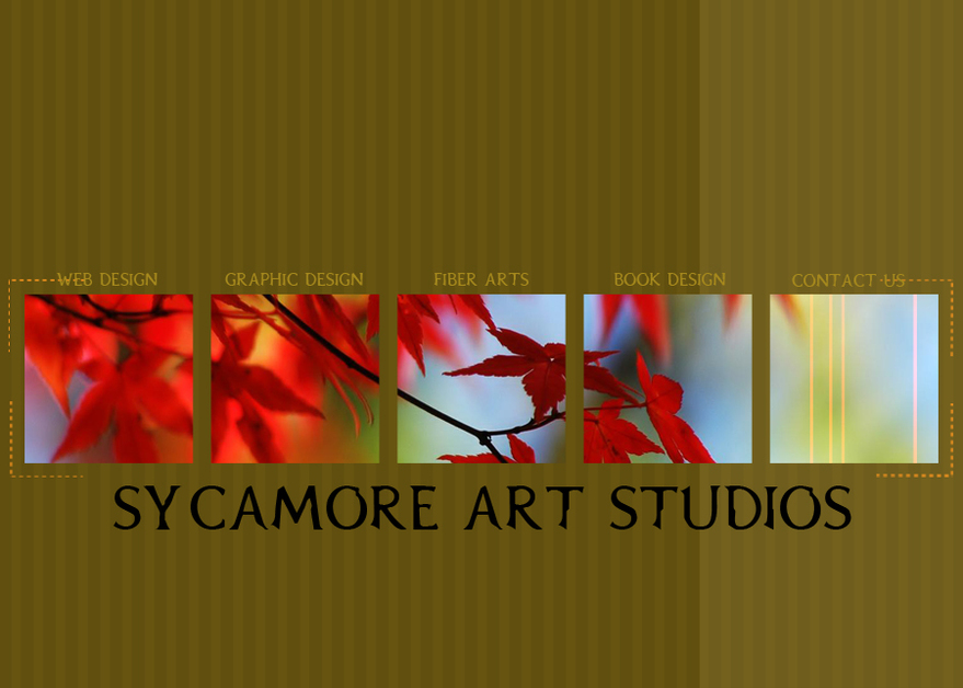 A great web design by Sycamore Art Studios, San Francisco, CA: