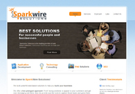 A great web design by Sparkwire Solutions, Boston, MA: