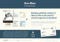 A great web design by Dan Khan - Digital Planner, Auckland, New Zealand: