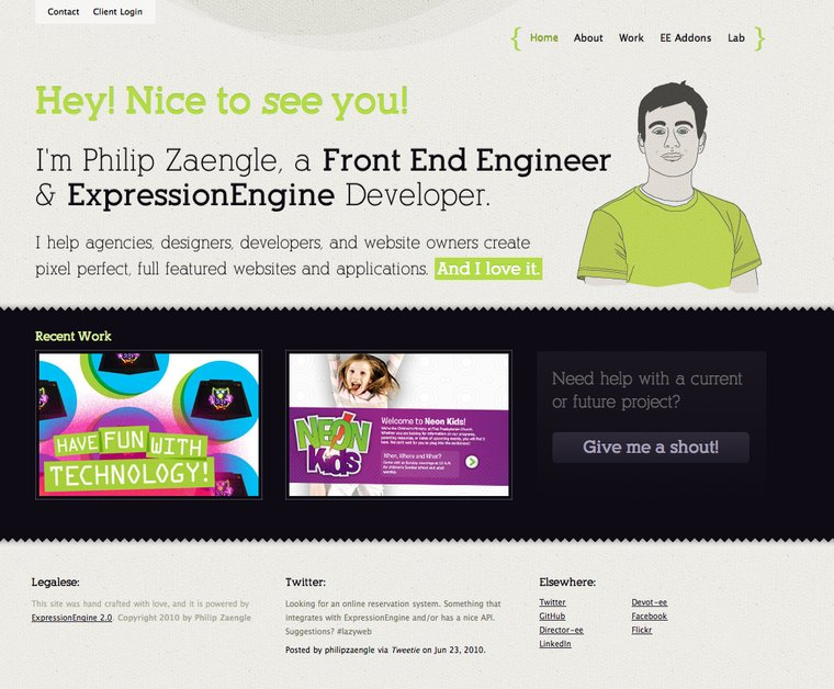 A great web design by PhilipZaengle.com, Fort Myers, FL: