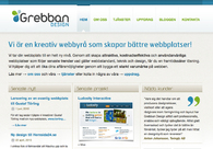 A great web design by Grebban Design, Skovde, Sweden: