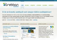 A great web design by Grebban Design, Skovde, Sweden: