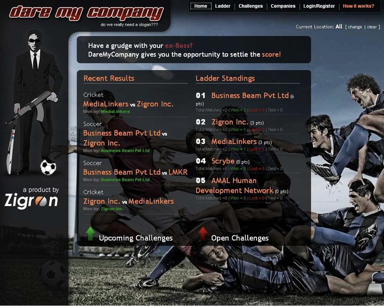 A great web design by Zigron, Washington DC, DC: