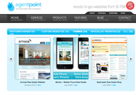 A great web design by Agentpoint.com, Boston, MA: