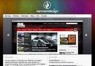 A great web design by nam nam design, Copenhagen, Denmark:
