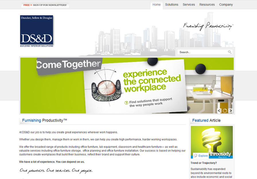 A great web design by NEKTONIC, Princeton, NJ: