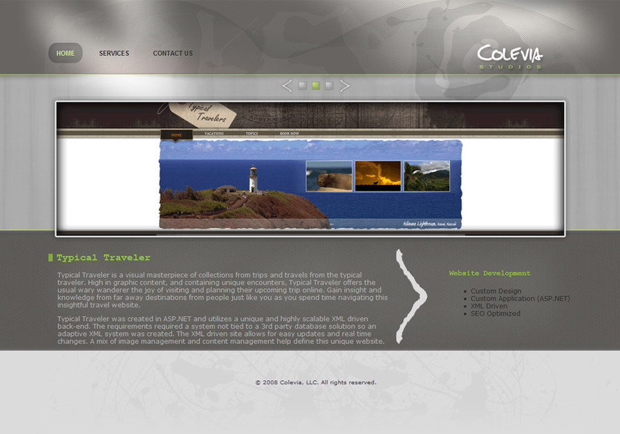 A great web design by Colevia, Missoula, MT: