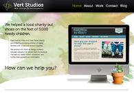 A great web design by Vert Studios, Tyler, TX: