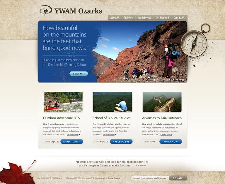 A great web design by Gurry Design, Dallas, TX: