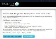 A great web design by Prabhu, Bangalore, India: