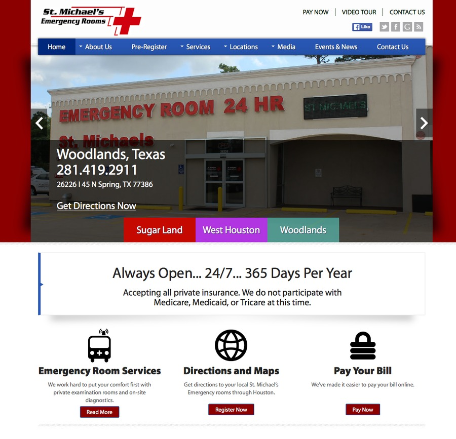 A great web design by GlobalSpex Internet Marketing, Houston, TX: Responsive Website, Marketing Website , Health & Beauty , Wordpress