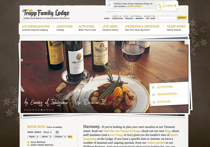 A great web design by Tag New Media, Burlington, VT: