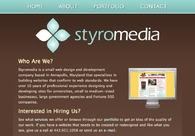 A great web design by Styromedia, Washington DC, DC:
