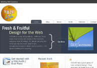 A great web design by YUZUlife, San Francisco, CA: