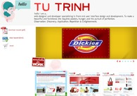 A great web design by Tu Trinh, Dallas, TX: