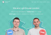 A great web design by Lighthouse London, London, United Kingdom: