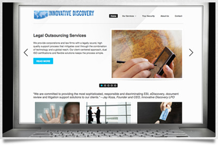 A great web design by Design Solutions, Seattle, WA: