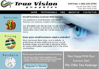 A great web design by True Vision Graphics, Chicago, IL: