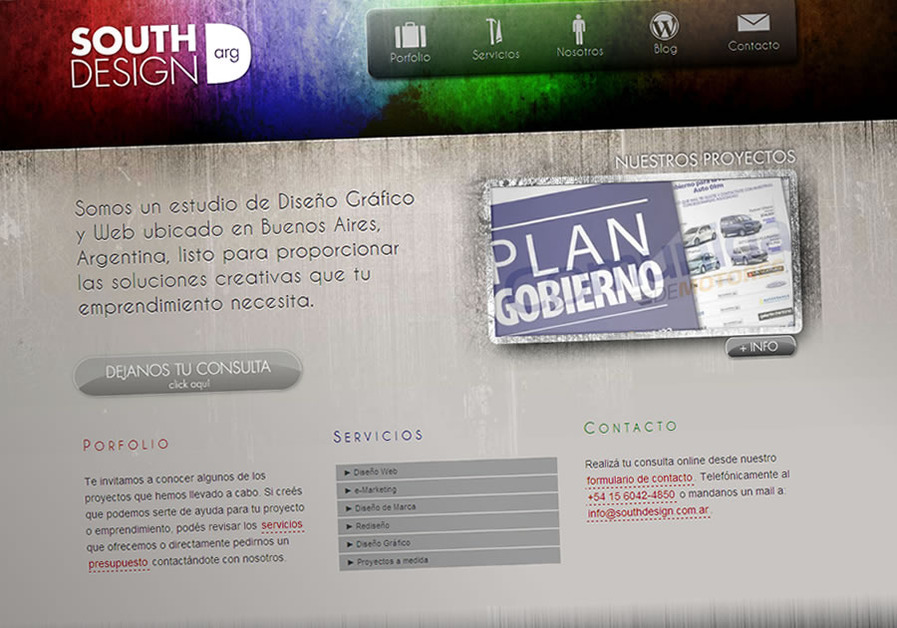 A great web design by South Design Argentina, Ciudad de Buenos Aires, Argentina: