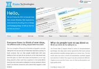 A great web design by iFrame Technologies, Bangalore, India: