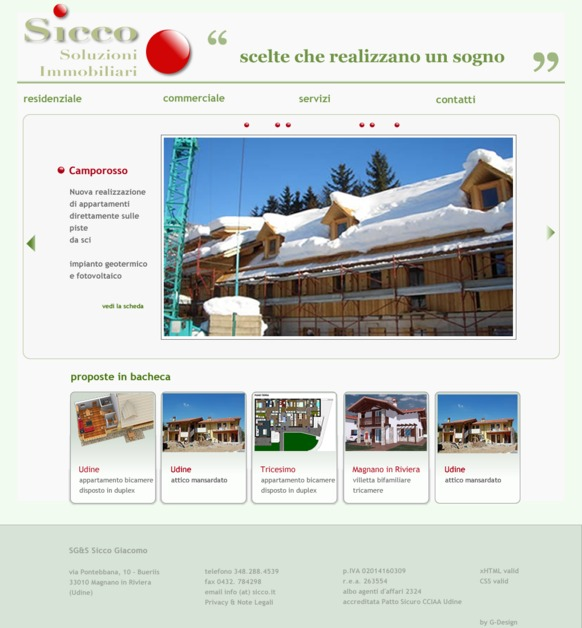 A great web design by S Group Italia, udine, Italy: