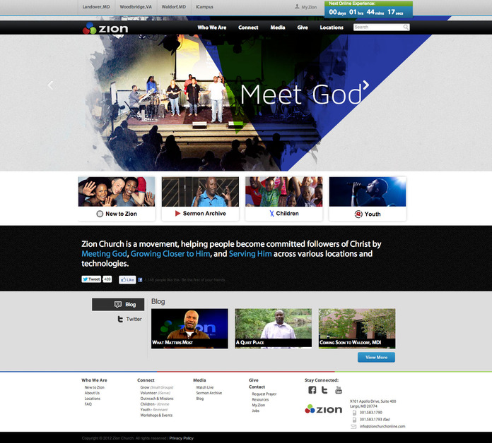 A great web design by X-Cell Design Firm, LLC, Washington DC, DC: