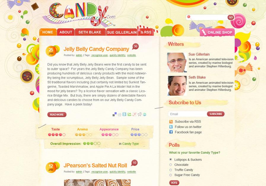 A great web design by Dizzain Inc., New York, NY: