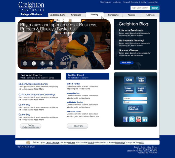 A great web design by Digital House, Omaha, NE: