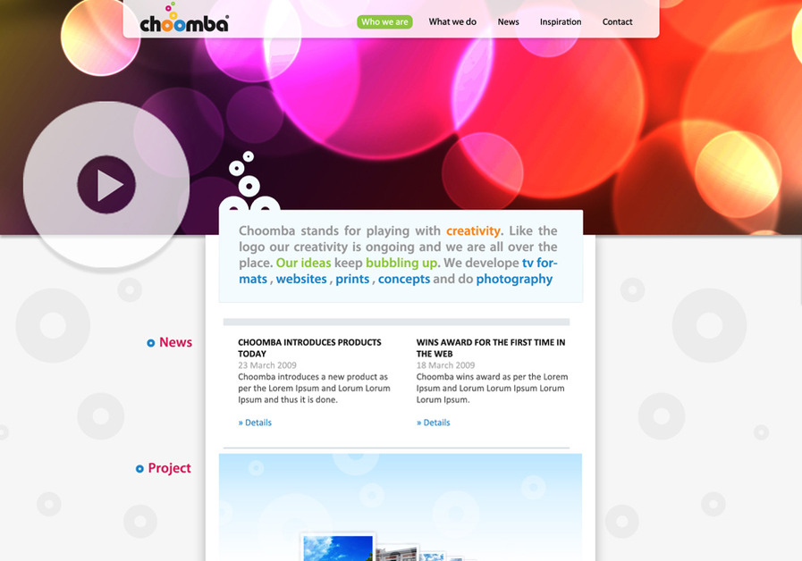 A great web design by cooljaz124, Trivandrum, India: