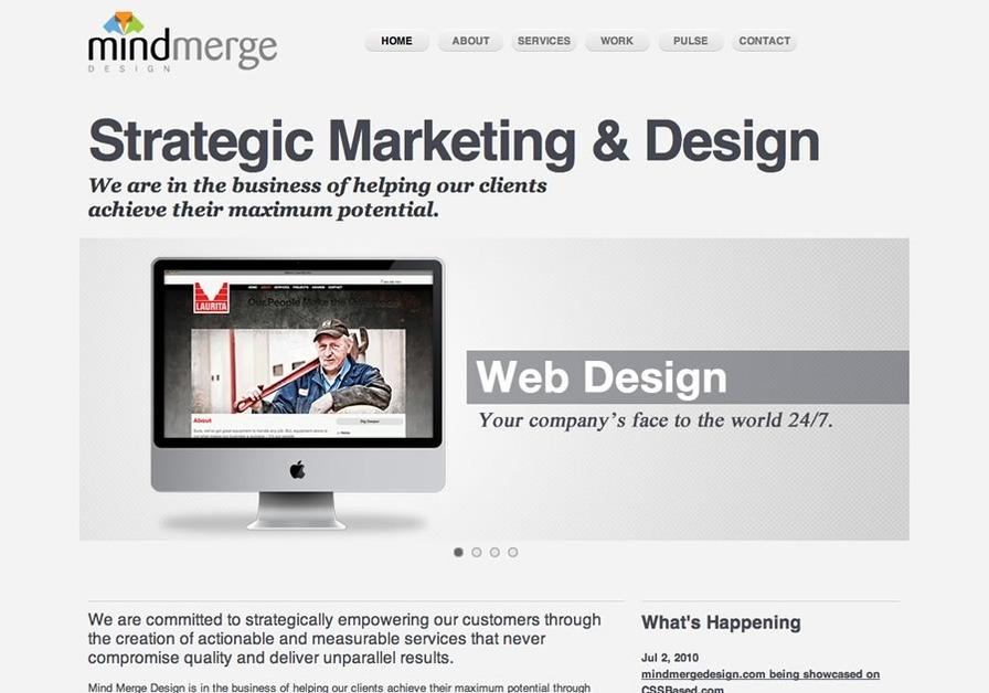 A great web design by Mind Merge Design, Morgantown, WV: