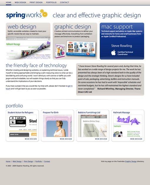 A great web design by Springworks, Sussex, United Kingdom: