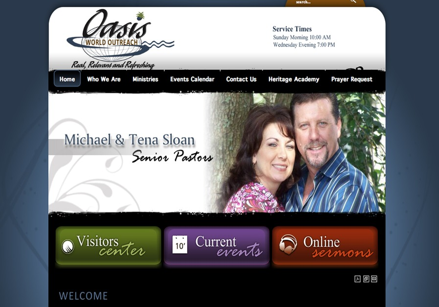 A great web design by Leigh DeLosSantos, Pembroke Pines, FL: