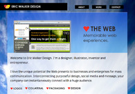 A great web design by Eric Walker Design, Boston, MA: