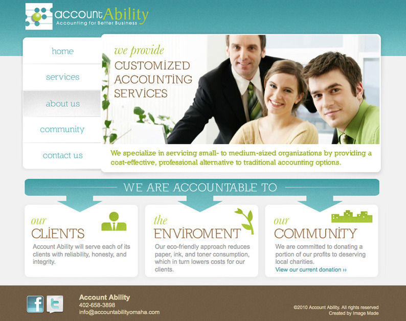 A great web design by Image Made, Omaha, NE: