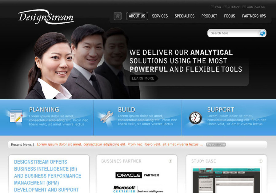 A great web design by xtrategy, Jakarta, Indonesia: