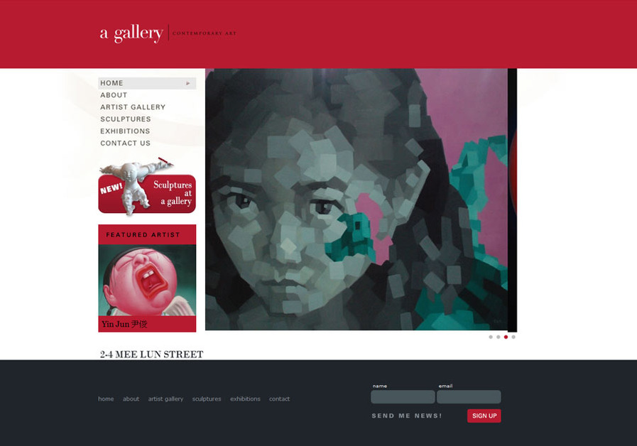 A great web design by Turtle Media, Central, Hong Kong: