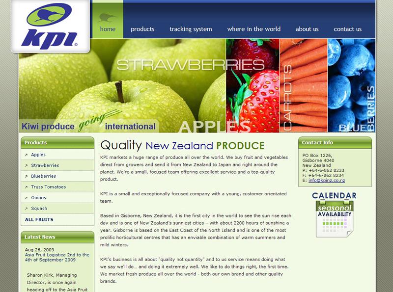 A great web design by Webdzinz Winning Websites, Auckland, New Zealand: