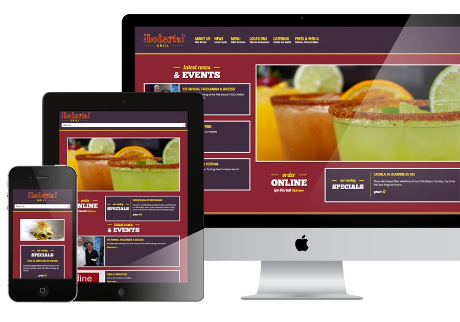 A great web design by El Bug Farm, Los Angeles, CA: Responsive Website, Marketing Website , Food & Beverage , Joomla