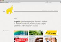 A great web design by Ricky Synnot Branding & Identity, Melbourne, Australia: