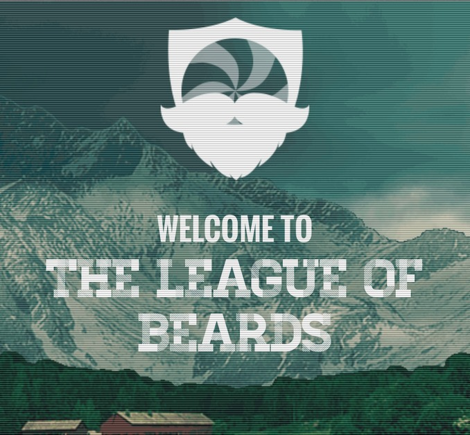 A great web design by The League of Beards, Louisville, KY: