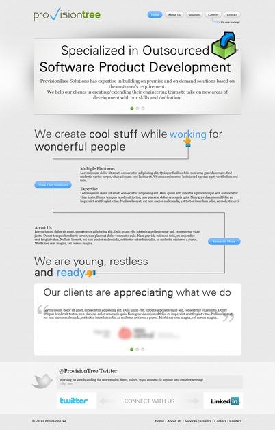 A great web design by nashatwork, New Delhi, India: